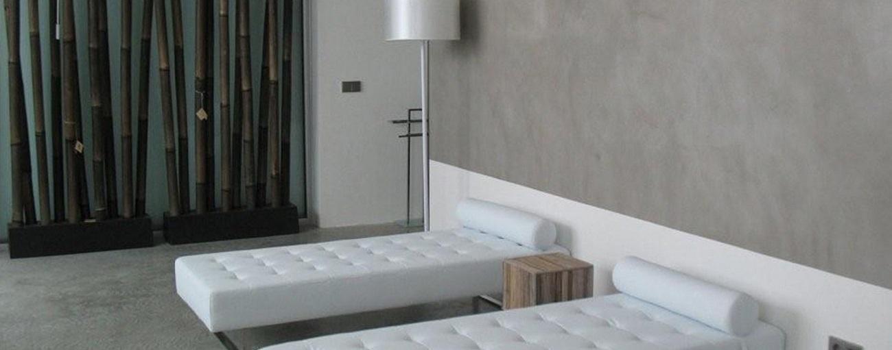paredes de microcemento