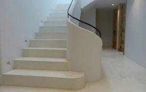 microcemento para suelos y escaleras