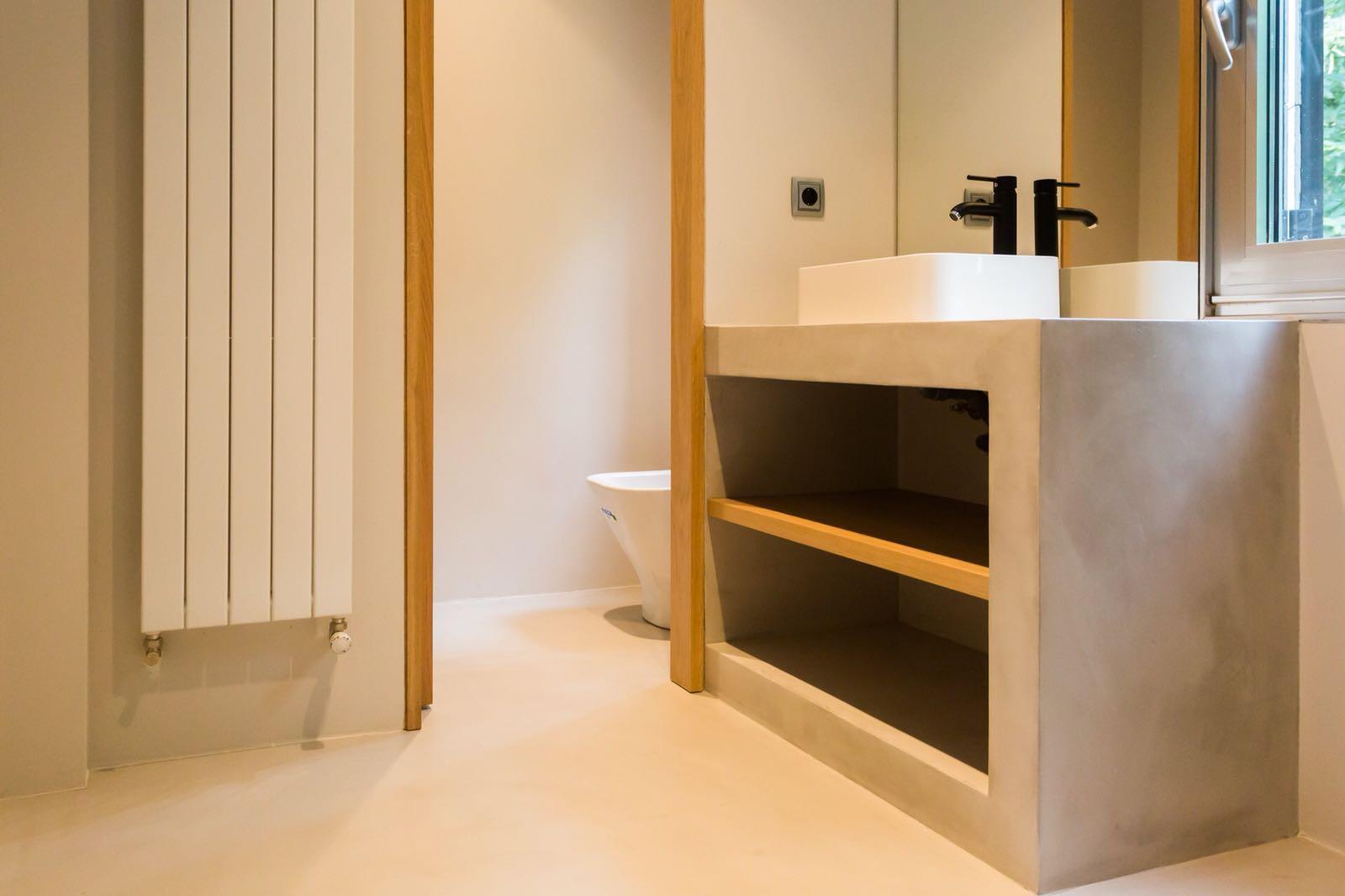 microcemento baños