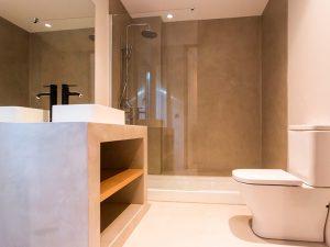 microcemento cuartos de baño